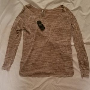 Gold Sparkly Long Sleeve Too from Guess NWT S